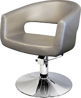"Hairway Styling Chair ""Retro"" Silver"