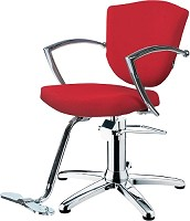 "Hairway Styling Chair ""Astra""- red"