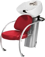 "Hairway Backwash Unit ""New York"" Red"