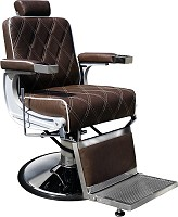 "Hairway Barber Chair ""Karlos"" Dark Brown"
